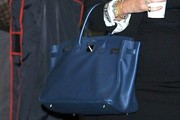 Sarah Ferguson Patent Leather Tote