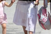 Sarah Michelle Gellar Knee Length Skirt