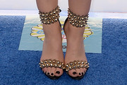 Lucy Hale Studded Heels