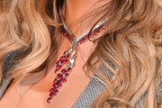 Mariah Carey Gemstone Chandelier Necklace