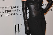 Shalom Harlow Leather Gloves