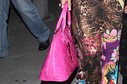 Shauna Sand Patent Leather Tote