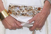 Lynda Obst Gemstone Inlaid Clutch