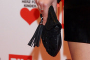 Sophia Thomalla Tasselled Clutch