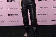 Zara Larsson Leather Pants