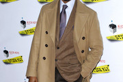 Jaleel White Pea Coat