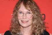 Mia Farrow Medium Curls with Bangs