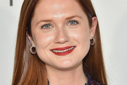 Bonnie Wright Long Straight Cut