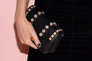Poppy Delevingne Studded Clutch