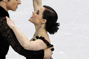 Tessa Virtue Loose Bun