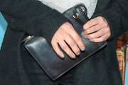 Aimee Garcia Leather Clutch