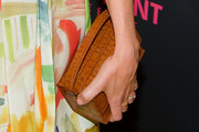 Kathryn Hahn Leather Clutch