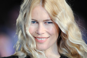 Claudia Schiffer Long Wavy Cut
