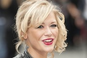 Suzanne Shaw Side Swept Curls