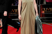 Lesley Manville Evening Dress