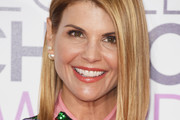 Lori Loughlin Asymmetrical Cut