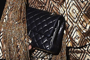 Shay Mitchell Quilted Clutch
