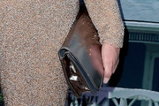 Elizabeth Perkins Metallic Clutch