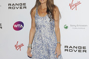 Annabel Croft Print Dress