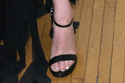 Lauren Jauregui Strappy Sandals