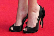 Courtney Ford Peep Toe Pumps
