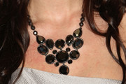 Sofia Mattsson Black Statement Necklace