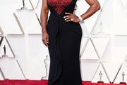 Serena Williams Strapless Dress