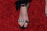 Lyndsy Fonseca Evening Sandals