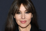 Monica Bellucci Long Straight Cut with Bangs