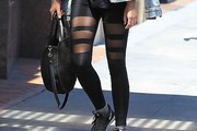Amanda Michalka Leggings