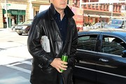 Liam Neeson Leather Coat