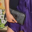 Victoria Justice Handbags - Leather Clutch
