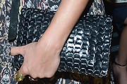 Margarita Levieva Leather Clutch
