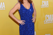 Reba McEntire Beaded Dress