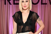 Rumer Willis Loose Blouse