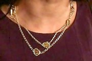 Dilshad Vadsaria Gold Chain