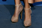 Jennifer Lopez Peep Toe Pumps