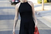 Rumer Willis Halter Dress