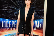 Charlotte Gainsbourg Tuxedo Dress