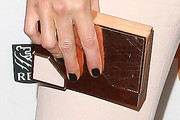 Kate Beckinsale Box Clutch