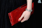 Gracie Gold Satin Clutch