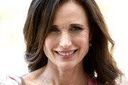 Andie MacDowell Long Wavy Cut