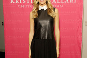 Kristin Cavallari Leather Dress