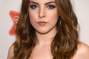 Elizabeth Gillies Long Wavy Cut
