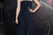 Deborah Ann Woll Strapless Dress