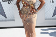 Fantasia Barrino Beaded Dress