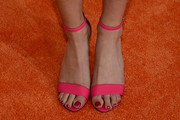 Kira Kosarin Strappy Sandals