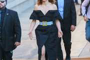 Daisy Ridley Off-the-Shoulder Dress