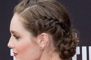Amy Forsyth Braided Bun
