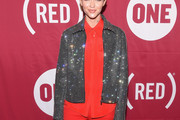 Ruby Rose Zip-up Jacket